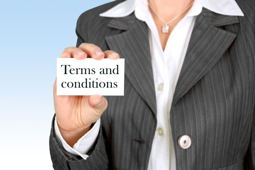 business selling terms and conditions explained by Tallents Solicitors