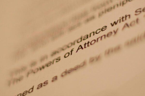 Claim a power of attorney refund