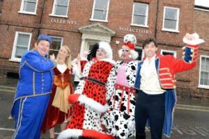 Tallents Solicitors sponsors Newark Palace Theatre pantomime for 4th year in a row