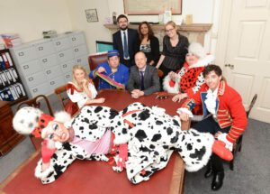 Tallents Solicitors sponsors the pantomime at Palace Theatre Newark